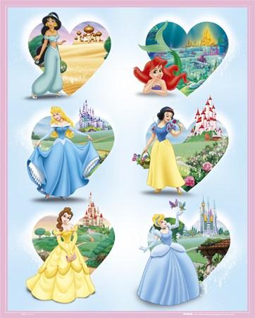 I love Disney - Heroines and Hearts
