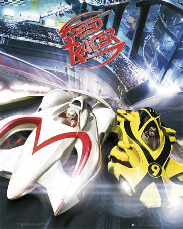Speed Racer Battles With Racer X - Speed Racer: The Movie