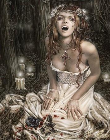 Vampire Girl - Victoria Frances