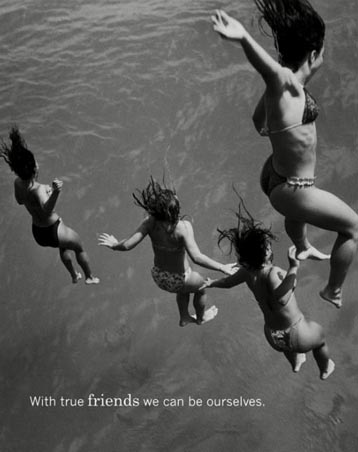 With True Friends We Can Be Ourselves - M.I.L.K. - Moments of Intimacy, Laughter and Kinship