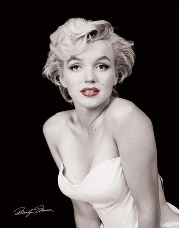 Red Lips - Marilyn Monroe