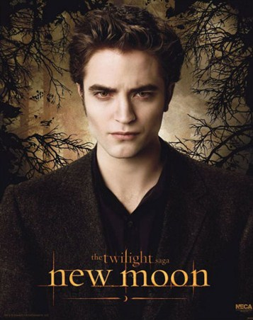 Edward Cullen amongst the trees - New Moon: The Twilight Sequel