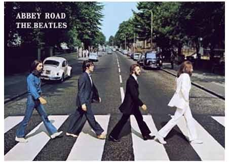Abbey Road Album Cover - The Beatles