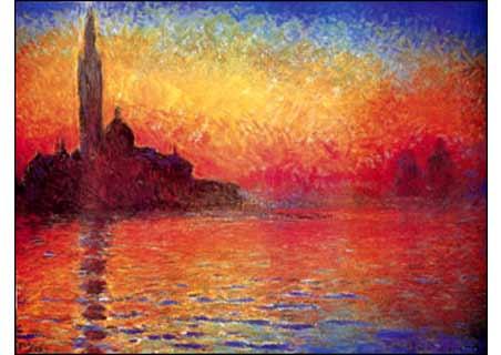 San Giorgio Maggiore, Venice by Twilight, 1908 - Claude Monet