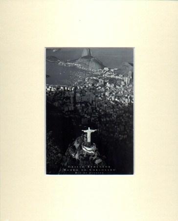 Christo Redentor - Christ The Redeemer - Rio De Janeiro Matted Print