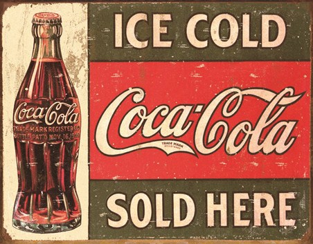 Coke Vintage, Sold Here