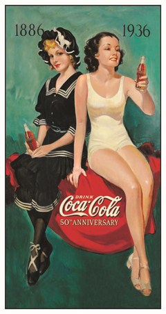 Bathing Beauties - Coca Cola