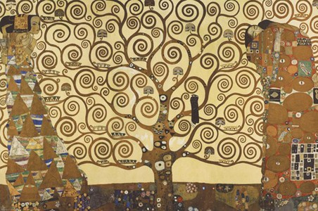 The Tree Of Life, Stoclet Frieze (1909) - Gustav Klimt