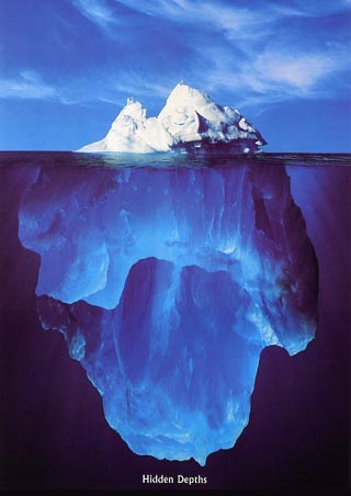 Iceberg, Hidden Depths