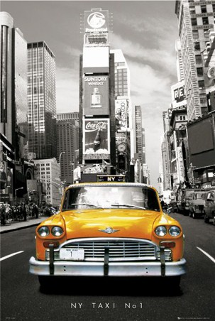 New York, USA Poster