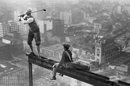 Tee Time - Men on a Girder