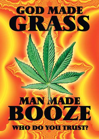 God Made Grass - Man Made Booze