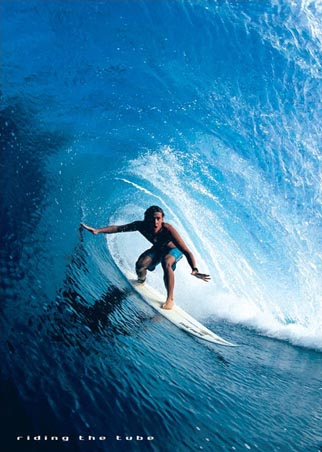 Riding the Tube - The Thrill of Surfing