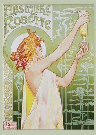 Absinthe Robette Advertising Art Poster - Privat Livemont