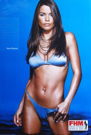 Tanya Robinson - FHM High Street Honeys
