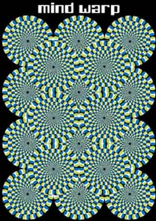 Cogs Twisting Cogs - Mind Warp Illusion