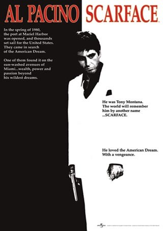 Scarface Movie Score, Al Pacino - Scarface