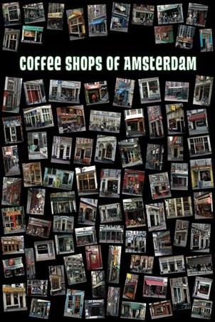 Coffee Shops of Amsterdam - Amsterdam, Holland