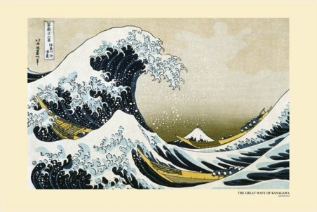 The Great Wave off Kanagawa, 1831-33, Katsushika Hokusai