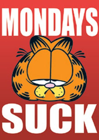 Monday Sucks - Garfield the Cat