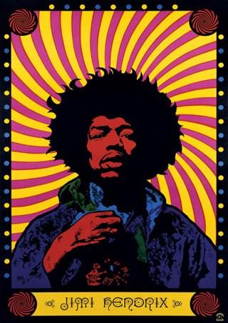 Psychedelic, Jimi Hendrix