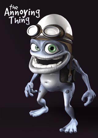Crazy Frog Posing - The Annoying Thing
