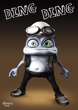 Ding Ding, Crazy Frog - The Annoying Thing