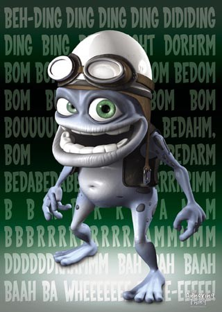 Portrait, Crazy Frog - The Annoying Thing