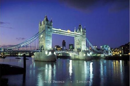 Tower Bridge, River Thames - The Tower Bridge, London