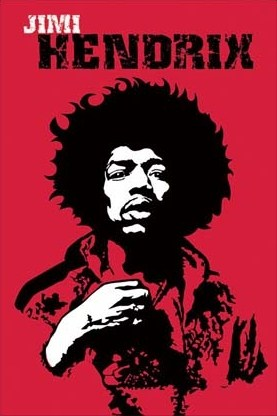 Pop Art Portrait of a Legend - Jimi Hendrix
