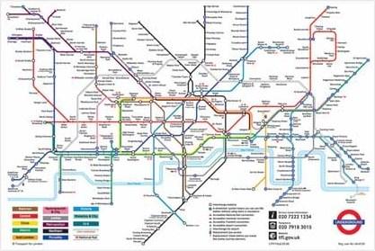 London Underground Map - London Underground