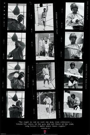The Greatest in Training - Film Strips - Muhammad Ali