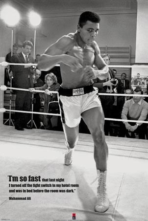 I'm so Fast, Muhammad Ali in Training