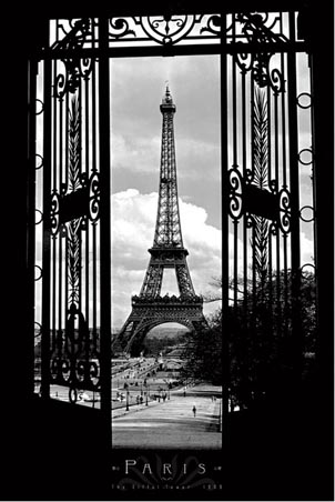 Eiffel Tower 1909 - Parisian Landmark, France