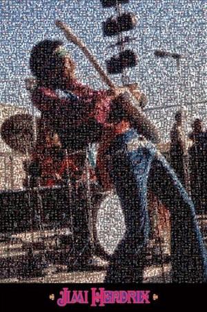 Jimi Hendrix Mosaic - Jimi Hendrix