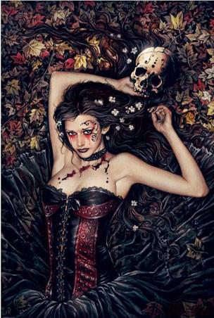 Skull Girl - By Victoria Frances
