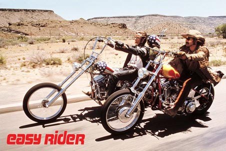 Peter Fonda & Dennis Hopper On The Road - Easy Rider