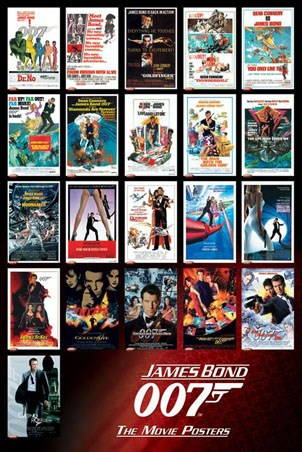 James Bond 007 – The Movie Posters - James Bond 007