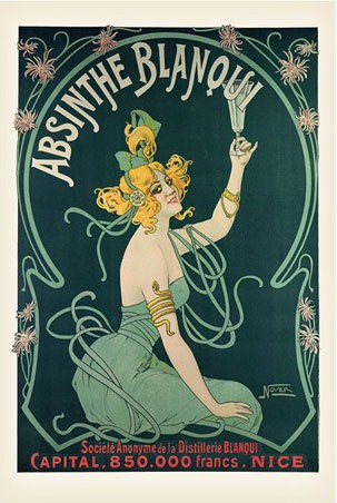 Absinthe Blanqui - Advertising Art