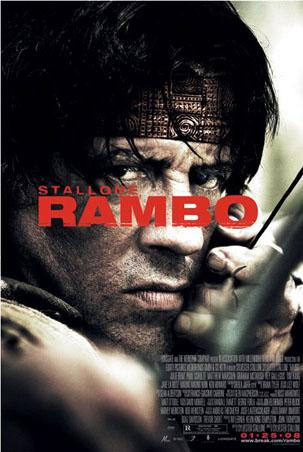 Rambo: One Sheet Movie Score - Rambo (2008)