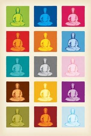The Buddha - Pop Art Buddha Images