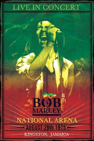 Live In Concert Bob Marley Poster Buy Online