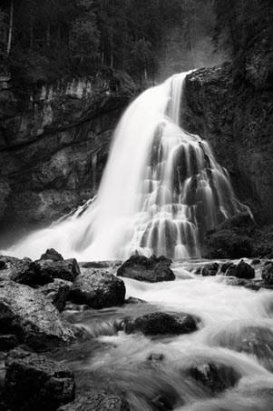 Forest Waterfall - Beautiful Austria