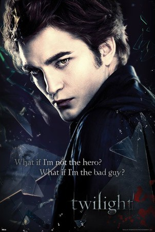 What if I'm the Bad Guy? - Robert Pattinson as Edward