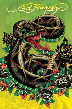 Rattlesnake - Ed Hardy