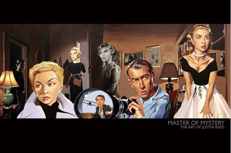 Master of Mystery (North by Northwest) - The Art of Justin Reed
