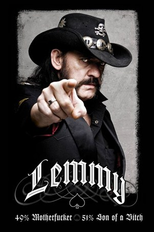 Framed The founding father of Motorhead - Lemmy