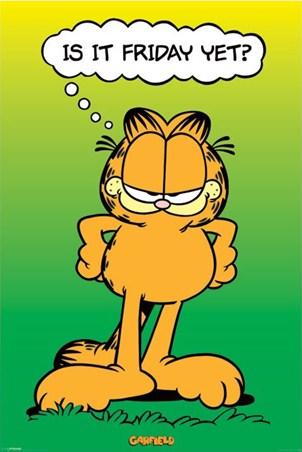 Is It Friday Yet? - Garfield