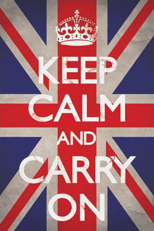 Keep Calm Union Jack - Keep Calm and Carry On