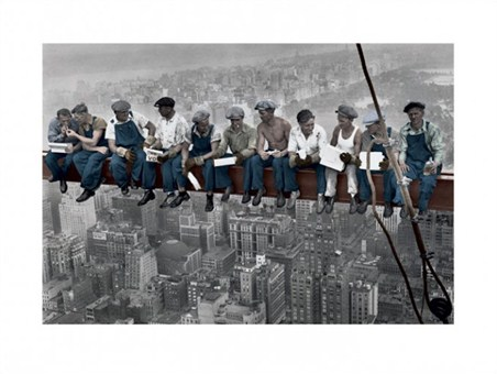Lunch on a Skyscraper - Charles Ebbets
